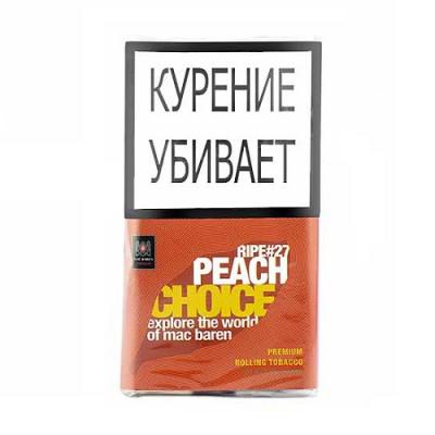 Купить Табак сигаретный мак барен (MAC BAREN) зрелый персик 40 гр в Уфе в магазине Tabakos