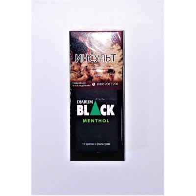 Купить Кретек джарум (djarum) блек ментол в Уфе в магазине Tabakos