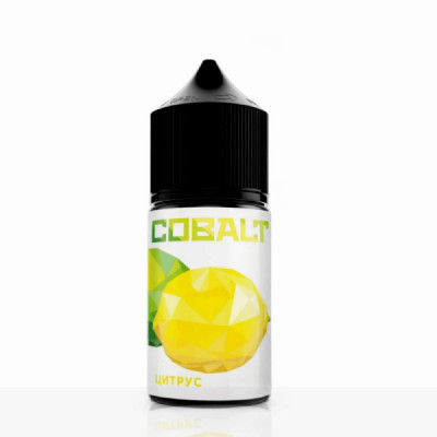 Купить ЖДЭС кобальт (cobalt) цитрус (50/50) 30 мл 18 мкг 2023 в Уфе в магазине Tabakos