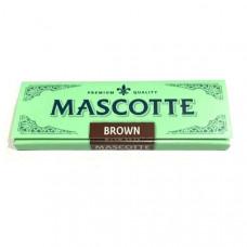 Бумага сигаретная маскот (mascotte) коричневый 14 г/м
