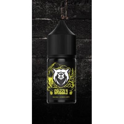 Купить ЖДЭС на соли гризли (grizzly) малина лимон лайм 50/50 30 мл 20 мкг стронг 2022 в Уфе в магазине Tabakos