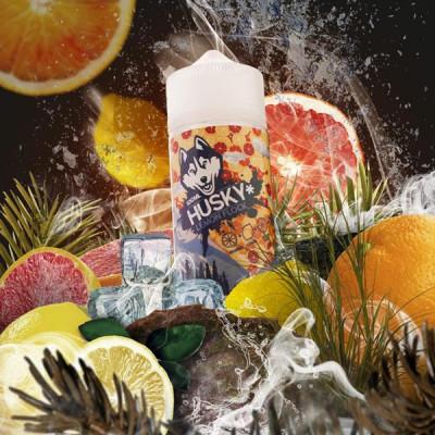 Купить ЖДЭС хаски (husky) лимонная стая 70/30 100 мл 3 мкг 2022 в Уфе в магазине Tabakos
