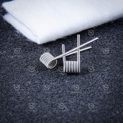 Купить Готовый койл новый койл (new coils) #147 фьюзед 2*0,5 ss316 +0.1Ni80 d 6/3 2шт  в Уфе в магазине Tabakos