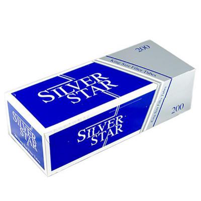 Купить Гильзы сигаретные сильвер стар (silver star) 200 шт в Уфе в магазине Tabakos