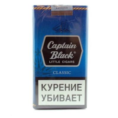 Купить Сигариллы капитан блек (Captain Black) классик в Уфе в магазине Tabakos
