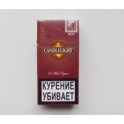 Сигариллы свечка вишня 10 шт