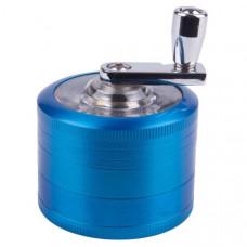 Измельчитель для табака металл микс милл с ручкой hx057sy-4
