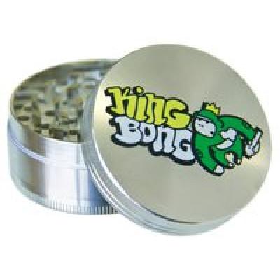 Купить Измельчитель для табака металл король бонгов Hx523kb в Уфе в магазине Tabakos