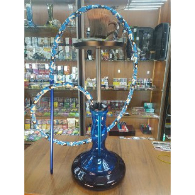 Купить Кальян базука (Bazooka) эстет черно-синий в Уфе в магазине Tabakos