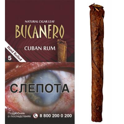 Купить Сигариллы буканеро (Bucanero) кубинский ром 5 шт в Уфе в магазине Tabakos