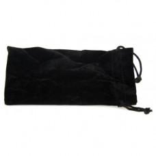Кисет для трубки велюр черный 18*9,5 см