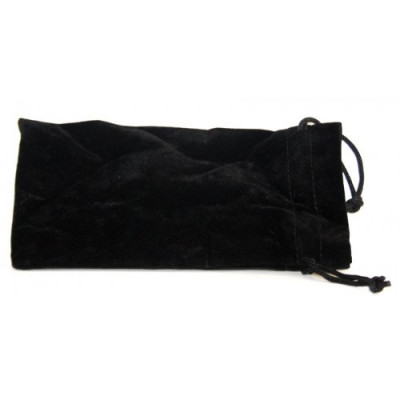 Купить Кисет для трубки велюр черный 18*9,5 см в Уфе в магазине Tabakos
