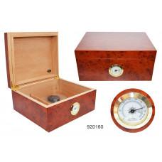 Хьюмидор на 50 сигар анжело (angelo) увлажнитель,гидрометр 920160