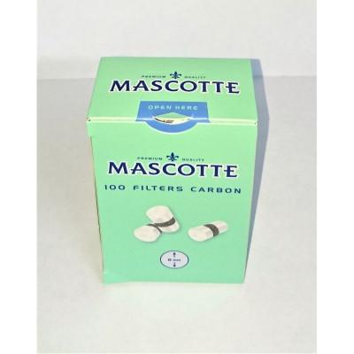 Купить Фильтр сигаретный маскотте (mascotte) угольный 8 мм в Уфе в магазине Tabakos